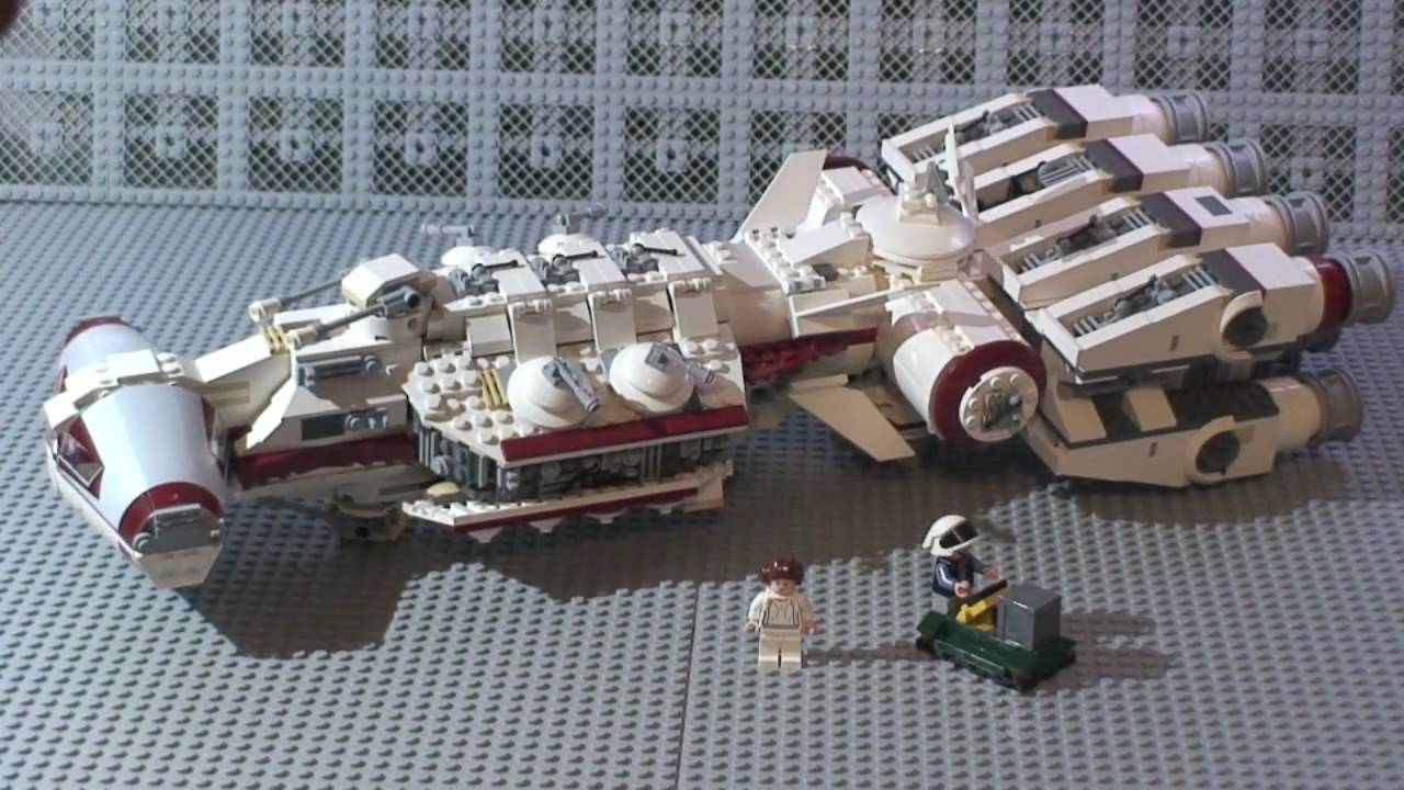 Lego Star Wars Tantive Iv Review 10198 Youtube