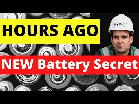 HOURS AGO! A Tesla Co-Founder Just Revealed a Huge Battery Production Secret