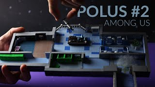 Building POLUS (Among Us) with cardboard & clay - Part 2