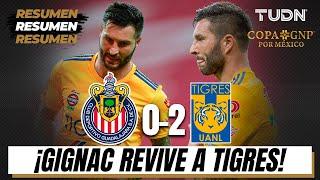 Resumen Y Goles | Chivas 0-2 Tigres | Copa Gnp Por México | Tudn