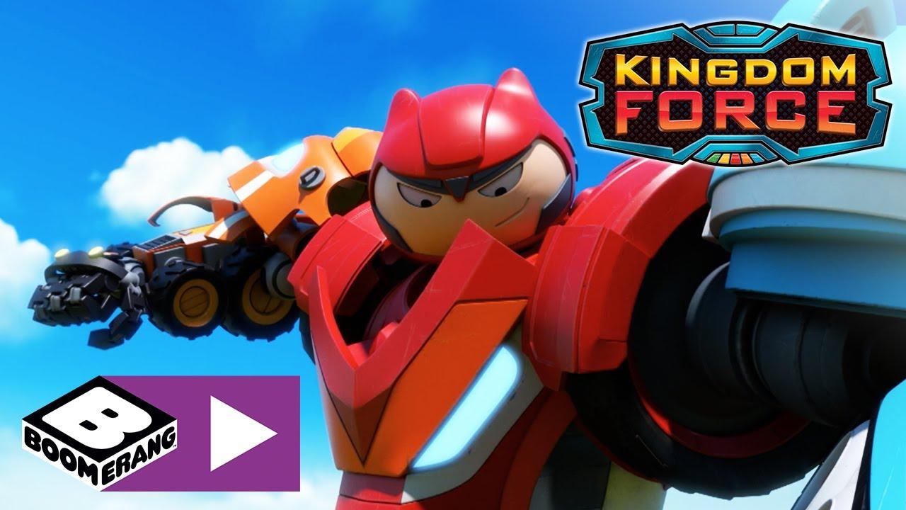 Kingdom Force | Haltet den Roboter auf | Boomerang