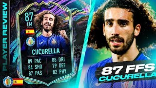 THIS CARD IS SO BROKEN WTF! 🤩 FULLY UPGRADED 87 FUTURE STARS CUCURELLA REVIEW! FIFA 21 Ultimate Team