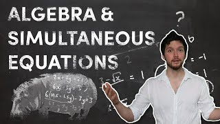 Algebra & Simultaneous Equations // HiSchool Maths With Matthew Shribman