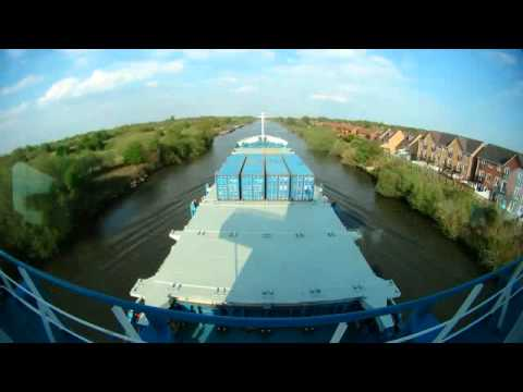 Partial Manchester Ship Canal Passage