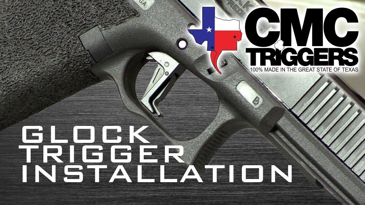CMC Glock Trigger Installation For Glock Gen 3 and Gen 4 Models