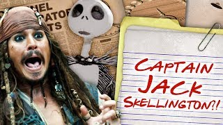 Is Jack Sparrow Really Jack Skellington!? | Channel Frederator