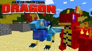 Minecraft - HOW TO TRAIN YOUR DRAGON - #50