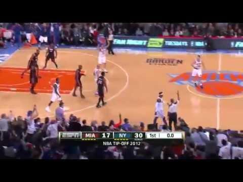 Miami Heat vs New York Knicks (Highlights) November 2, 2012