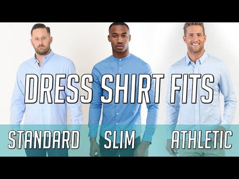 slim-fit-vs-standard-vs-athletic-fit-dress-shirts-||-finding-the-right-fit