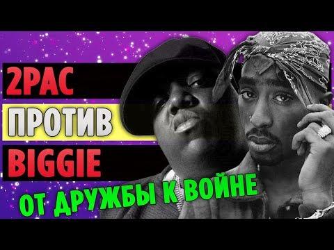 Как 2Pac и Biggie Перешли от Дружбы к Вражде
