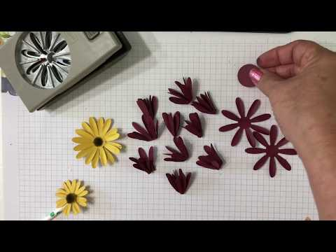 How to Make Paper Daisies & Mums