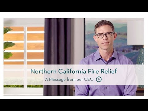 Elegant Northern California Fire Relief: Living Spaces