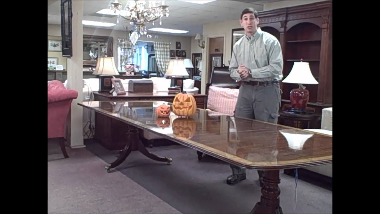 Henredon Dining Table is the Piece of the Week- October 28th - YouTube