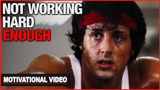 youre not working hard enough   motivational video