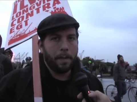 Workers/Trade Unionists Speaks Out At Oakland Port Blockade/Occupation
