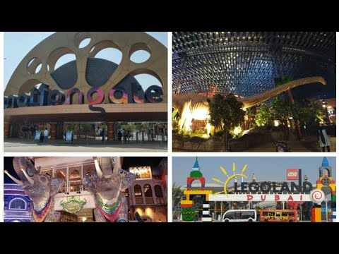 Dubai Top 10 Family Days Out, Motiongate, IMG Worlds of Adventure, Bollywood Parks, Burj Khalifa UAE