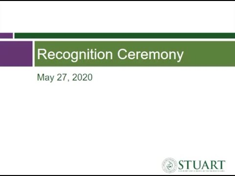 2020 Faculty Recognition Ceremony | Stuart Country Day School