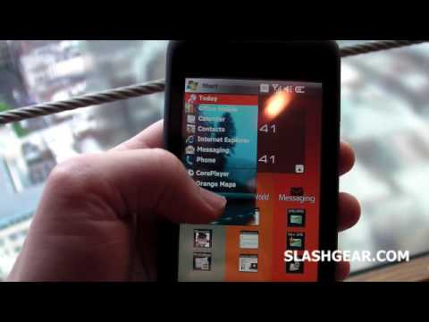 Orange Toshiba TG01 hands-on