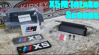 homepage tile video photo for E70 BMW X5M Intake Scoops