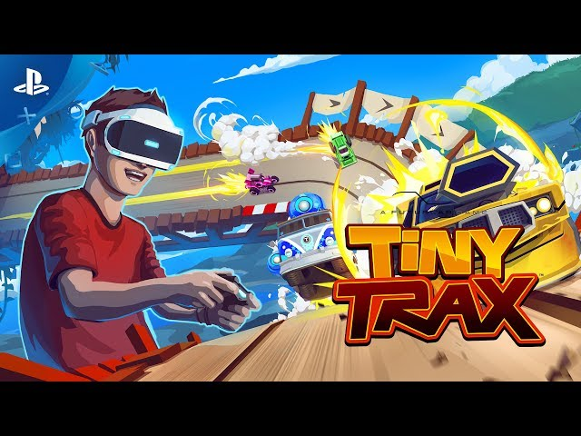 Tiny Trax - PS VR Gameplay Demo | E3 2017