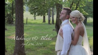 Makenzie and Blake - wedding at The Farm at Brusharbor