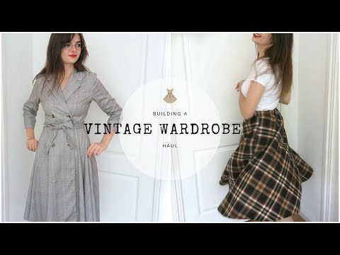 Building A Vintage Wardrobe | Clothing Haul