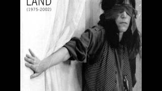 Patti Smith - Redondo Beach [Demo]