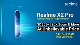 Realme X2 Pro All Official   India Launch, Global Price, Date & Full Specifications | Realme X2 Pro
