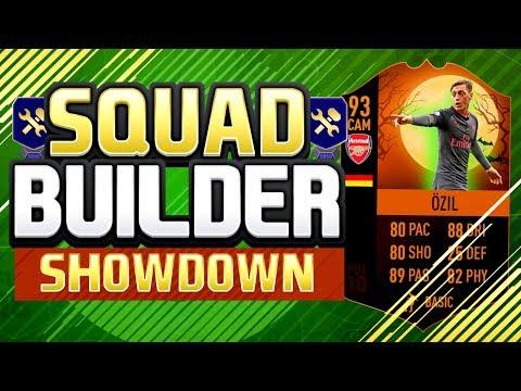 FIFA 18 SQUAD BUILDER SHOWDOWN!!!! THE BEST SCREAM CARD!! 93 Rated Scream Ozil