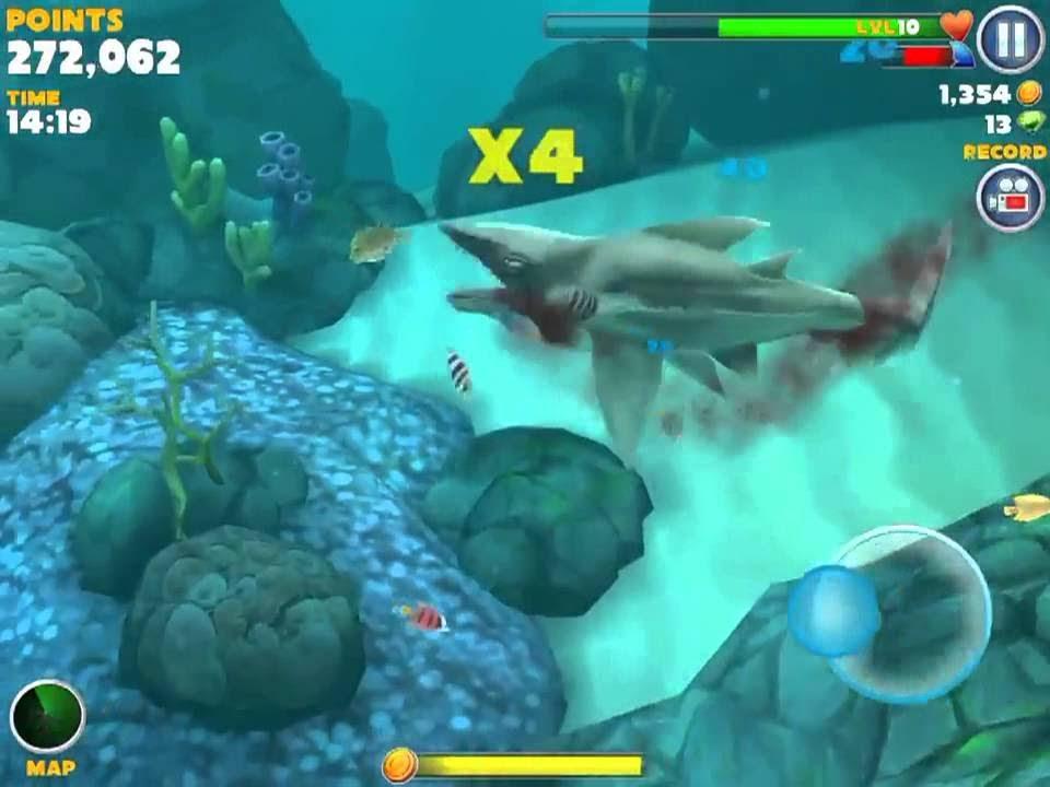 hungry shark evolution giant electro shark youtube