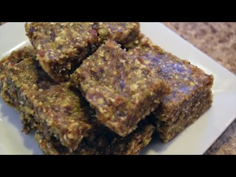 Fast and Easy Nut & Seed Bars - Nutrition Month