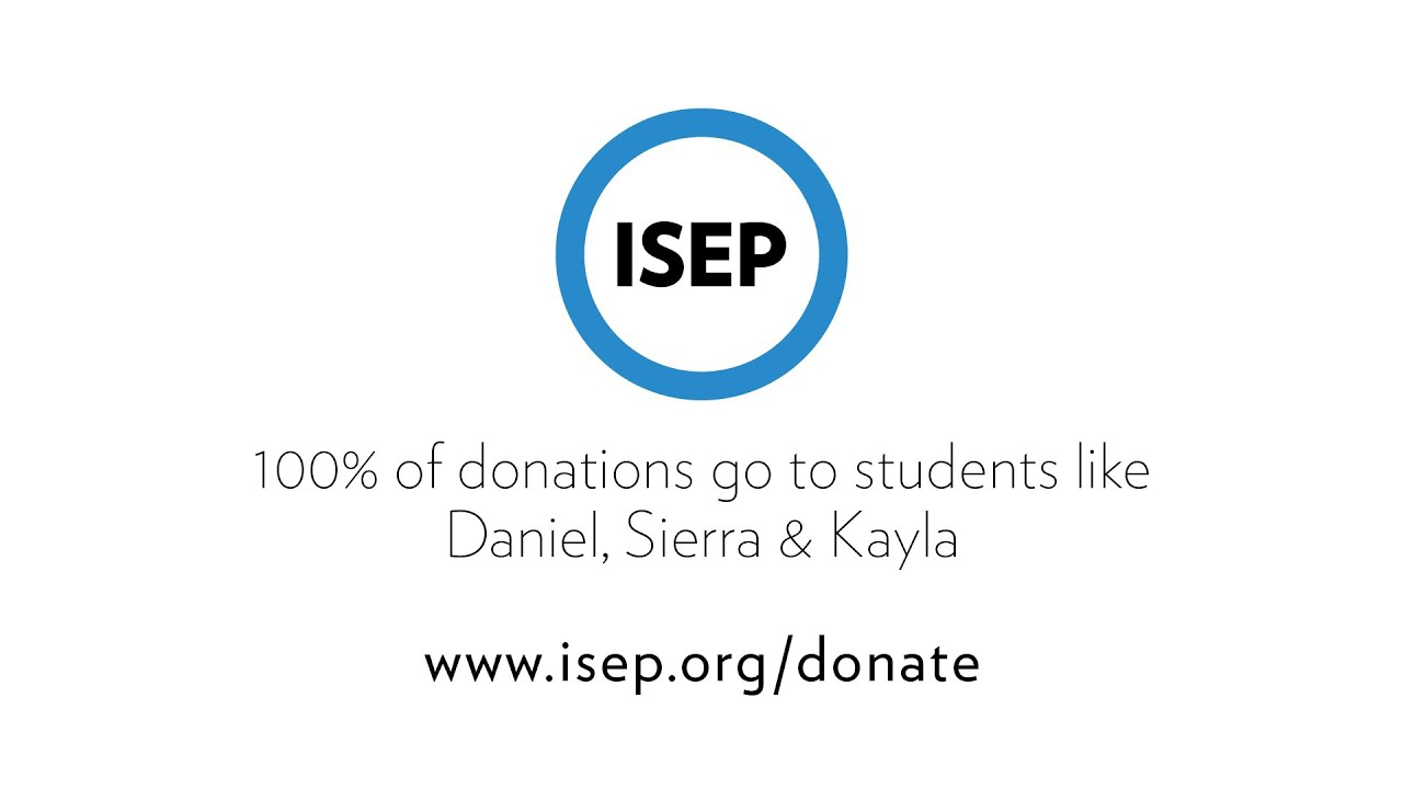 Donate To Isep Help U Fulfill Our Mission Student Study Abroad Personal Statement
