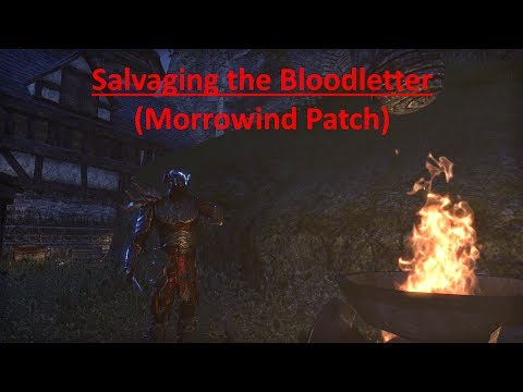 The Elder Scrolls Online; Salvaging the Bloodletter (Morrowind Patch)