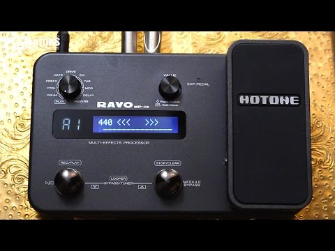 Hotone Ravo Guitar Multi FX Pedal with Just About Everything Built In!