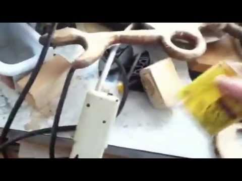 Nancy Today: Wooden switch plate 4 painting ASMR