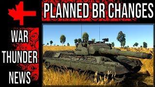 War Thunder - Planned BR Changes for November 2018 - Ground Vehicles