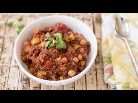 Spicy Quinoa Chili