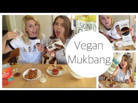 Comfort food Mukbang // VEGAN