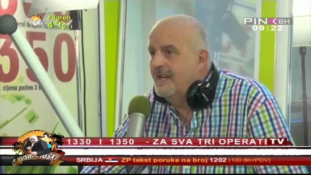 Josip Pejakovic u emisiji Udri muski o Skandinavskoj turneji