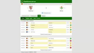 Севилья Бетис Прогноз и обзор матч на футбол 11 июня 2020 Примера Тур 28