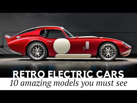 10 New Electric Cars That Preserve Vintage Exterior And Iconic Interior Looks