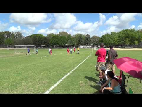 MAITLAND LIGHTNING (4) vs. (3) APOPKA FC AFC COURAGE - U10 - 1st Half