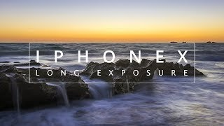 Using the IPHONE X for a LONG EXPOSURE SEASCAPE image