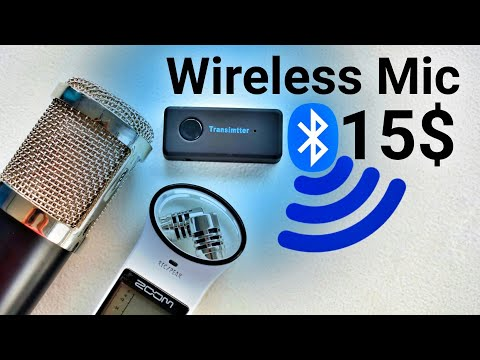 The Best Quality Wireless Microphone For DSLR ! 15 $ DIY Bluetooth Mic