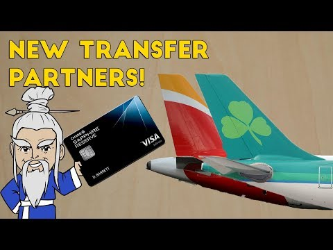 Chase Introduces Two New Airline Transfer Partners! (Ultimate Rewards)