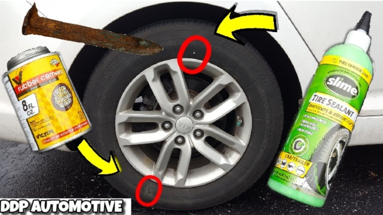 Flat Fix Near Me >> How To Easily Repair Damage To The Sidewall Of A Car Tire