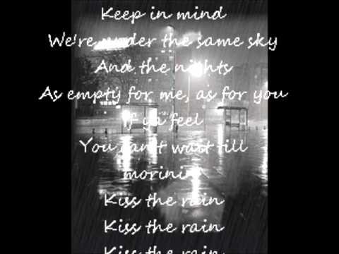 Kiss The  Rain Billy Myers   Lyrics