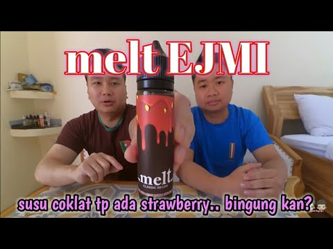 Review Liquid EJMI Melt Chocolate Milk With Strawberry