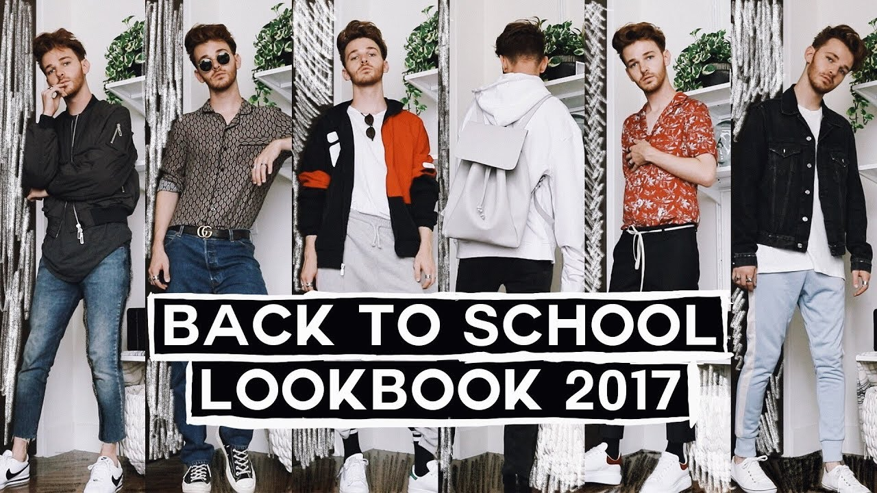 Back To School Lookbook Ootw Mens Outfit Ideas Style