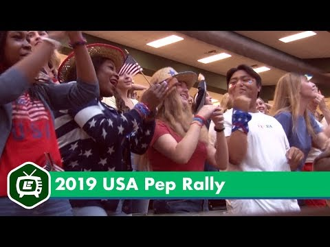 2019 Prosper High School USA Pep Rally Highlights